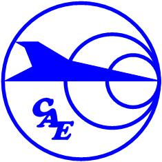 Логотип Chinese Aeronautical Establishment - CAE (Китайская авиационная академия).