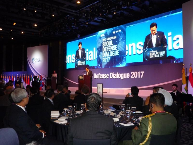 Приветственное слово министра национальной обороны Республики Корея Сон Ён Му. 7 сентября 2017 года, Сеул.