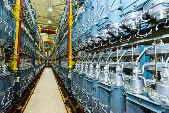 Газовые центрифуги