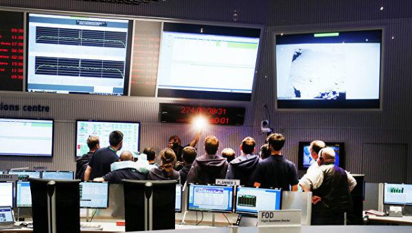 Центр управления полетами Европейского космического агентства. Архивное фото