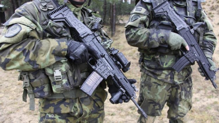 Автоматическая винтовка чешского производства Ceska Zbrojovka CZ 806 Bren 2 в стандартном варианте под патрон 5,56х45 мм НАТО.