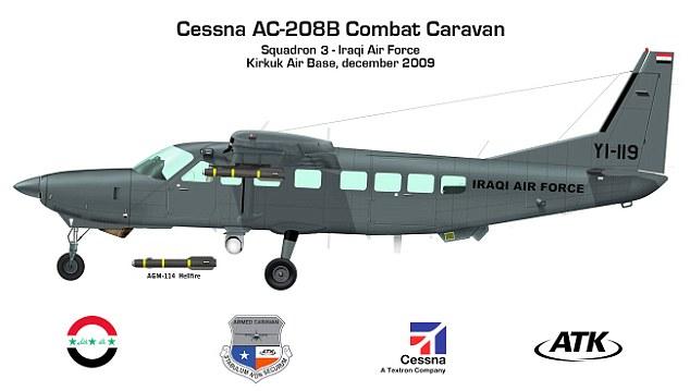Штурмовик Cessna AC-208B Combat Caravan.