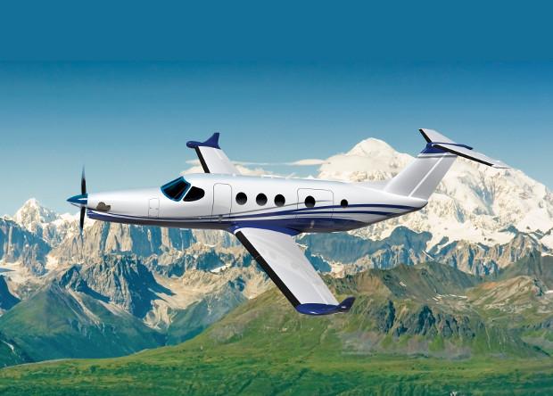 Изображение бизнес-самолета Cessna Denali.