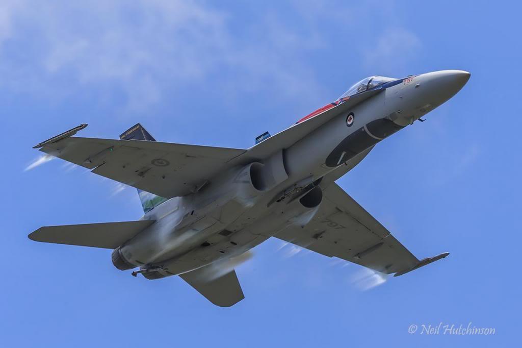 CF-18 Hornet ВВС Канады.