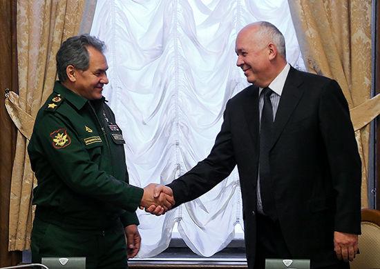 Сергей Шойгу и Сергей Чемезов