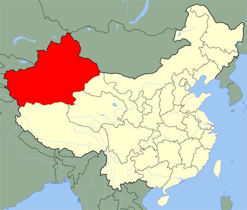 СУАР, Синьцзян