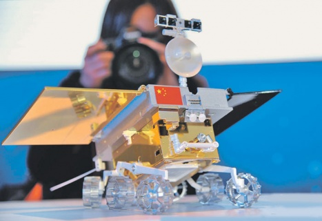 Модель китайского лунохода