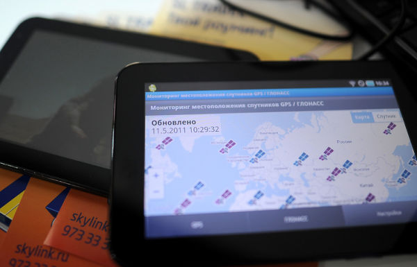 Мониторинг спутников GPS / ГЛОНАСС