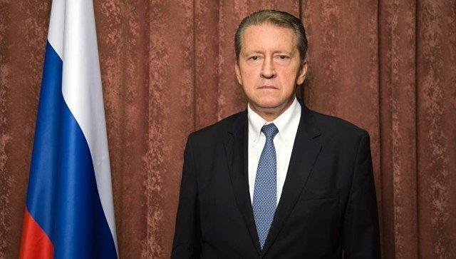 Чрезвычайный и Полномочный Посол Российской Федерации в Республике Индия Николай Кудашев. Архивное фото.