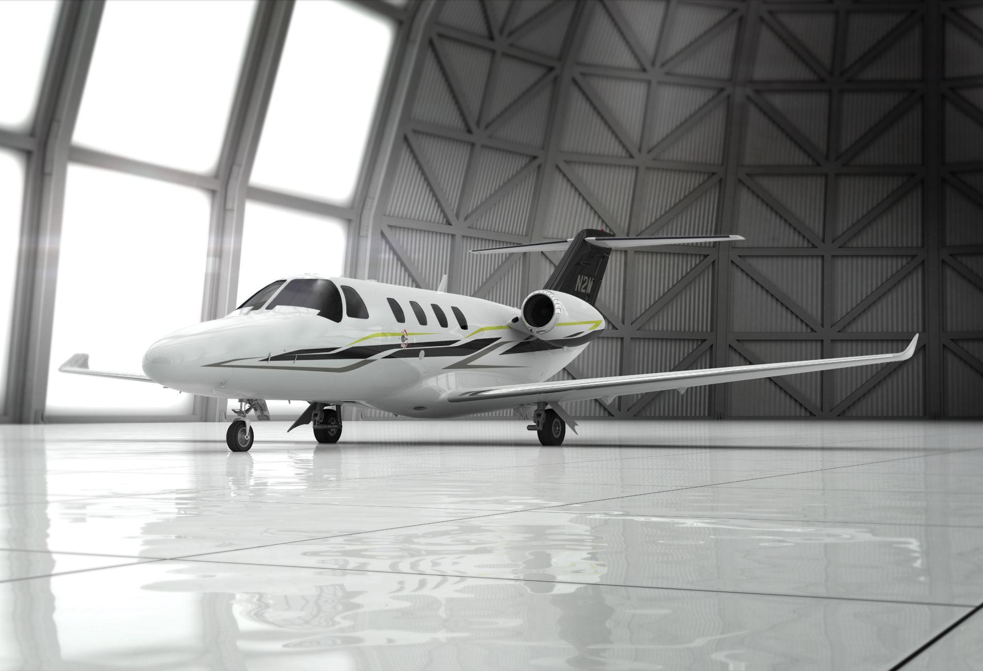 Бизнес-джет Cessna Citation M2.