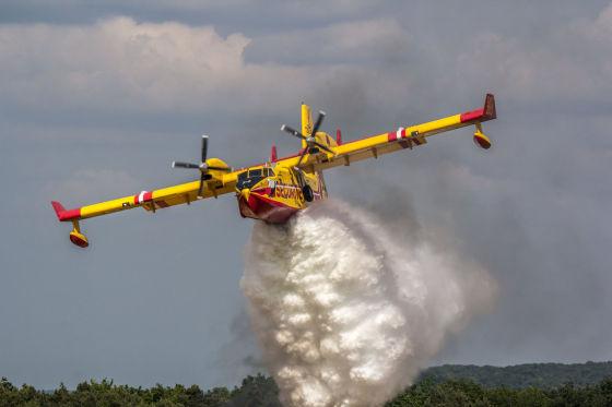 Самолет-амфибия Bombardier CL-415