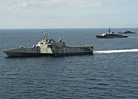 CNO Navplan 2021: «Америка – морская держава, ее безопасность и процветание зависят от мореплавания. Если мы потеряем преимущество на море, то Америка станет уязвимой». Фото с сайта www.dvidshub.net