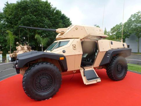Модификация боевого модуля Cockerill Protected Weapon Station (CPWS) производства бельгийской компании Cockerill Maintenance & Ingénierie была установлена на прототип Panhard Crab показанный на выставке Eurosatory 2012.