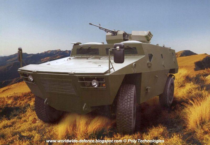 Колесная (4х4) бронемашина CS/VN3