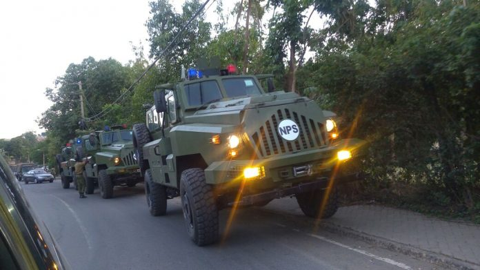 Минно-устойчивые полицейские машины типа CS/VP3 Bigfoot