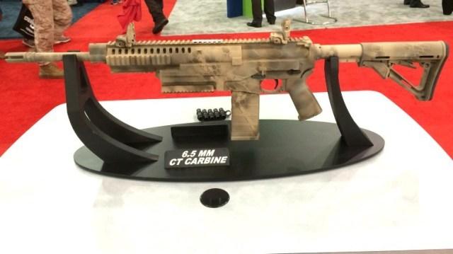 Карабин 6.5 CS Carbine (6.5mm case-telescoped carbine), разработанный Textron Systems под телескопические патроны калибра 6,5 мм.