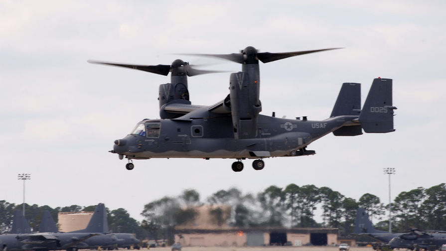 Конвертоплан CV-22 Osprey.