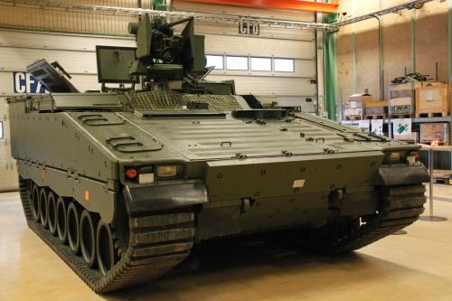 Боевая машина пехоты CV9030N.