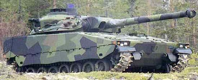 Концепция среднего танка CV90105.