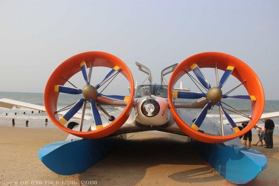 Экраноплан CYG-11 китайской разработки. Источник: Xinhua.