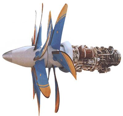 Турбовинтовентиляторный двигатель Д-27<br>Источник: http://www.airwar.ru/.