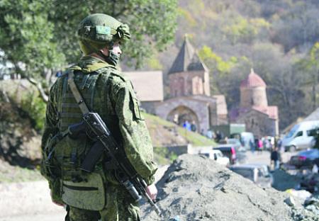 Дальнейшие действия Москвы на Кавказе напрямую будут зависеть от политики Еревана. Фото РИА Новости