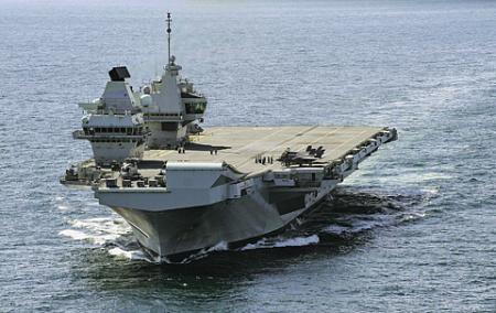 Дальний поход на Восток – один из элементов реализации стратегии «Глобальная Британия». Фото с сайта www.navy.mil