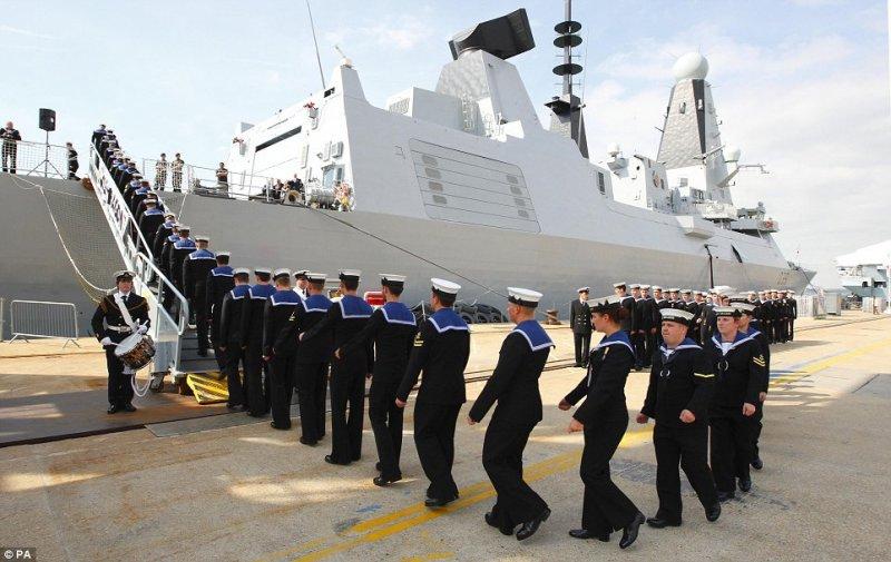 Эсминец «Daring» («тип 45» или «тип D»).