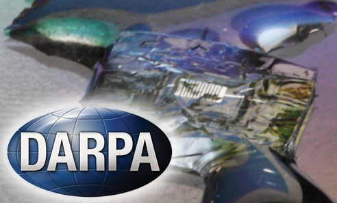 "Илююстрация к программе DARPA ""Vanishing Programmable Resources""."