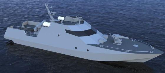 Ракетный катер компании Dearsan Shipyard