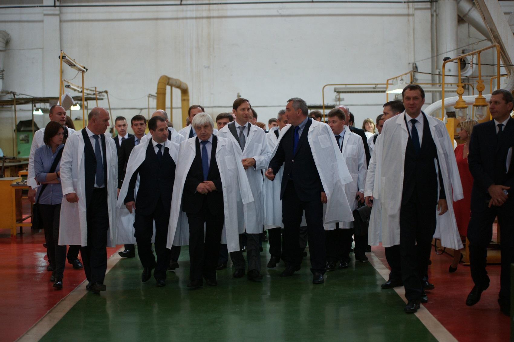 Делегация на ОАО «Кузнецов».