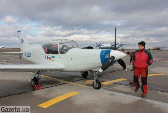 """Украинский самолет """"Дельфин"""""""