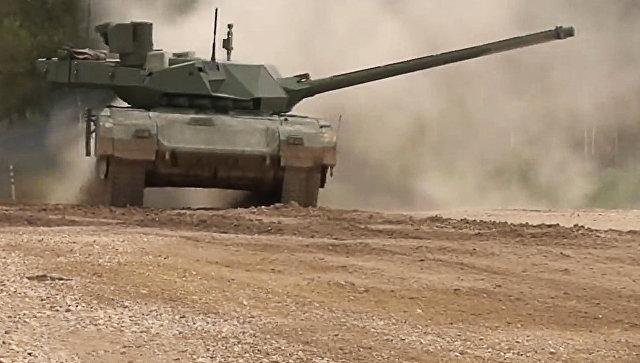 Демонстрация танка Армата. Архивное фото