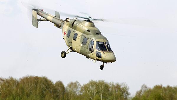 """Демонстрация вертолета """"Ансат"""""""