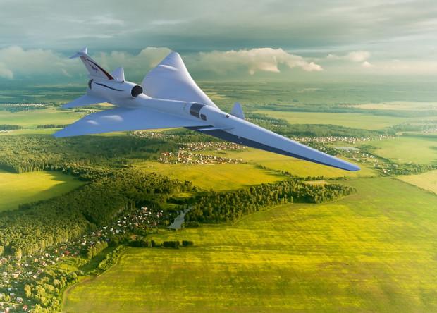 Демонстратор перспективного пассажирского сверхзвукового самолета, разрабатываемый американской компанией Lockheed Martin по проекту QueSST, получивший официальное индексное обозначение X-59.
