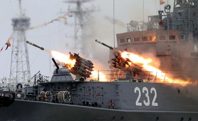 День военно-морского флота РФ в Балтийске