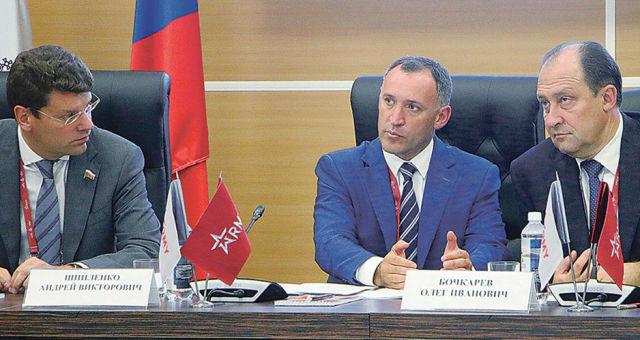 Денис Кравченко, Андрей Шпиленко и Олег Бочкарев