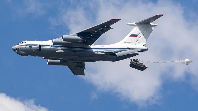 Десантирование из Ил-76МД
