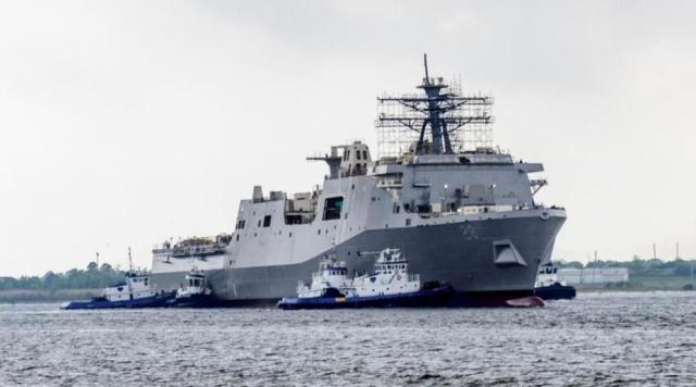 Fort Lauderdale: пополнение в семье десантных кораблей