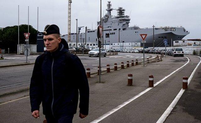 Десантный вертолетоносный корабль-док «Севастополь» типа «Мистраль»