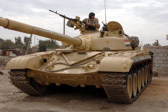 Танк Т-72М1 ВС Ирака.