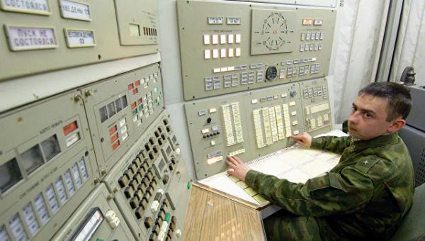 Дежурный боевой пост РВСН в Калужской области. Архивное фото