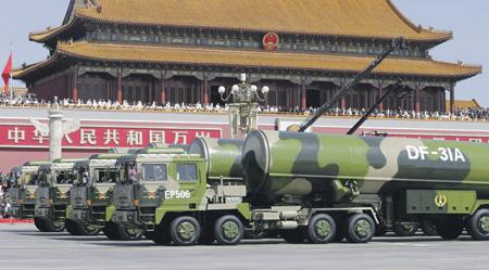 Китай уверен, что его ракеты DF-31A гарантированно обеспечат ответный удар по любому противнику.