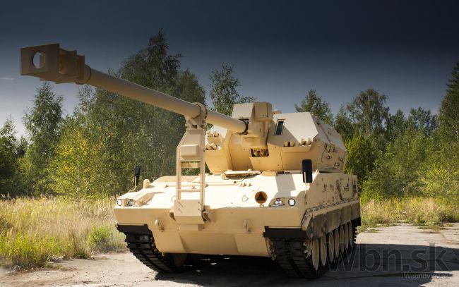 Прототип 155-мм/55 самоходной гаубицы Diana cовместной разработки польского предприятия Bumar Labedy и словацкой компании KONSTRUKTA - Defencе.