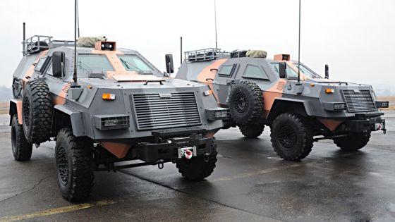Грузинский бронеавтомобиль