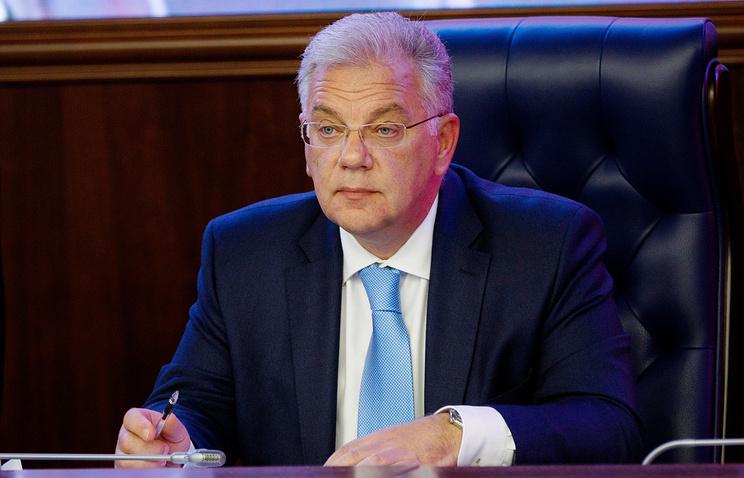 Директор Федеральной службы по военно-техническому сотрудничеству Дмитрий Шугаев.