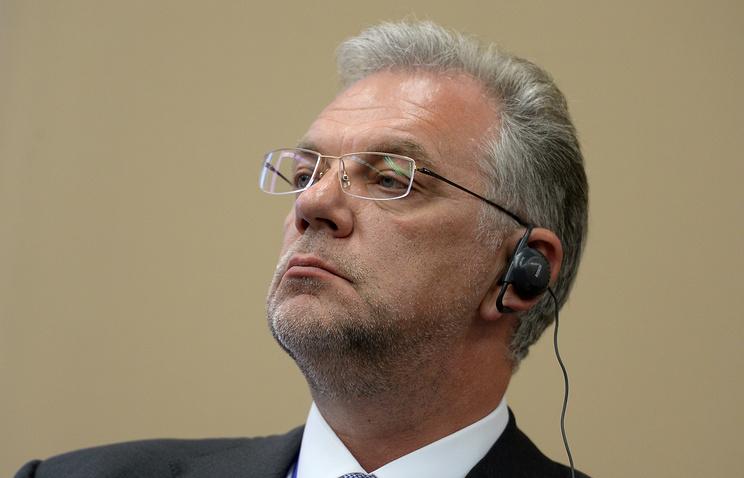 Директор Федеральной службы по военно-техническому сотрудничеству (ФСВТС) Дмитрий Шугаев.