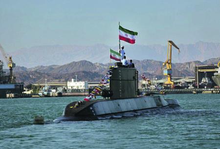 """Дизель-электрическая подводная лодка типа """"Фатех"""". Фото с сайта www.irna.ir"""