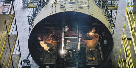 Для масштабного обновления подводного флота требуются серьезные конструкторские и технологические решения. Фото с сайта www.admship.ru