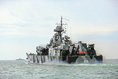 Для противостояния НАТО в Черном море российскому флоту потребуется больше кораблей в регионе. Фото с сайта Министерства обороны РФ